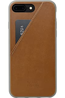 new style cf737 4e639 Amazon.com: Native Union CLIC Card Case - Genuine Leather Drop-Proof ...