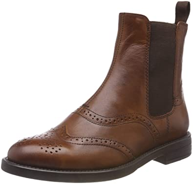 Vagabond Damen Amina Chelsea Boots, Braun (27 Cognac), 41 EU