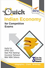 Quick Indian Economy for Competitive Exams Kindle Edition