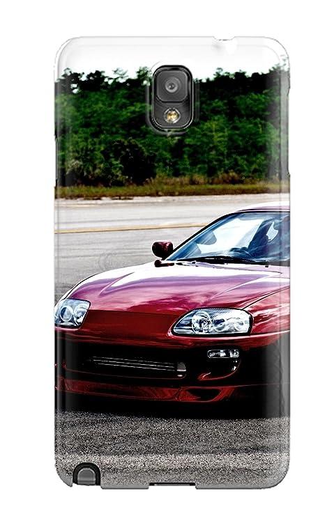 Toyota Supra 21 duro coleccionables parasiempre chascar-en Galaxy Note 3 funda