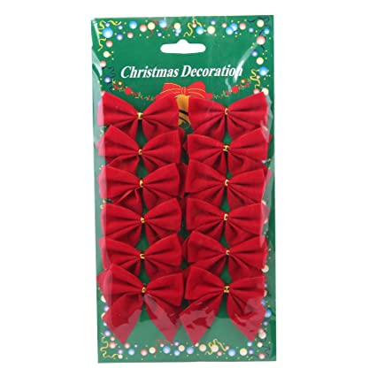 amazon com 12 pcs mini 6cm christmas charms decoration ornaments