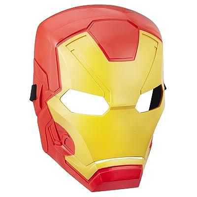 Marvel Avengers Iron Man Basic Mask: Toys & Games