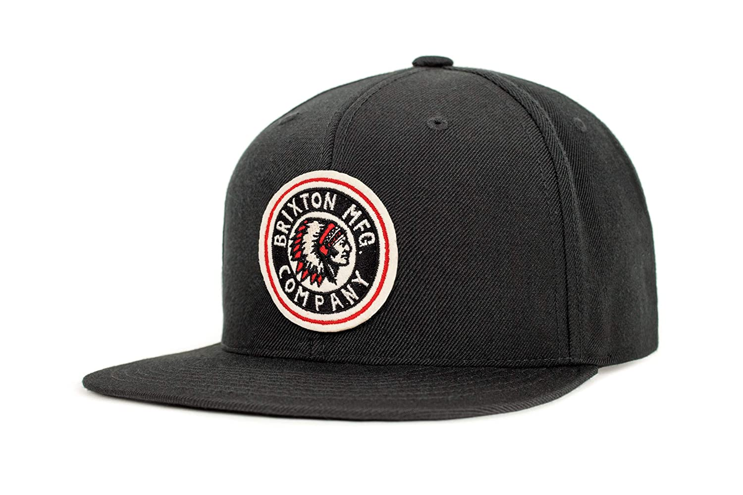 472521c2 Brixton Men's Rival Medium Profile Adjustable Snapback Hat, Black, One  Size: Amazon.ca: Clothing & Accessories