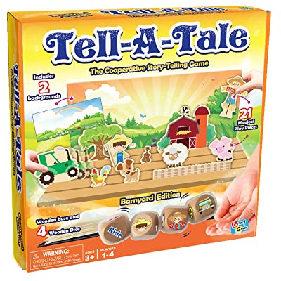 Tell-A-Tale Game (Barnyard Edition): Toys & Games
