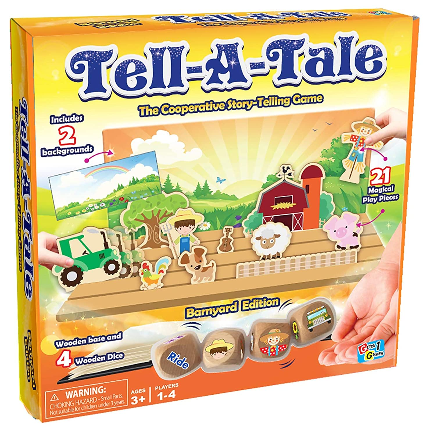 Tell A Tale Game Barnyard Edition