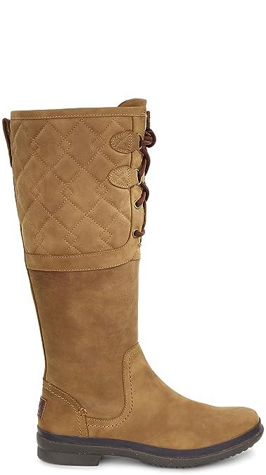 d384cbabc8c Amazon.com | UGG Women's Elsa Deco Quilt Waterproof Boot | Mid-Calf