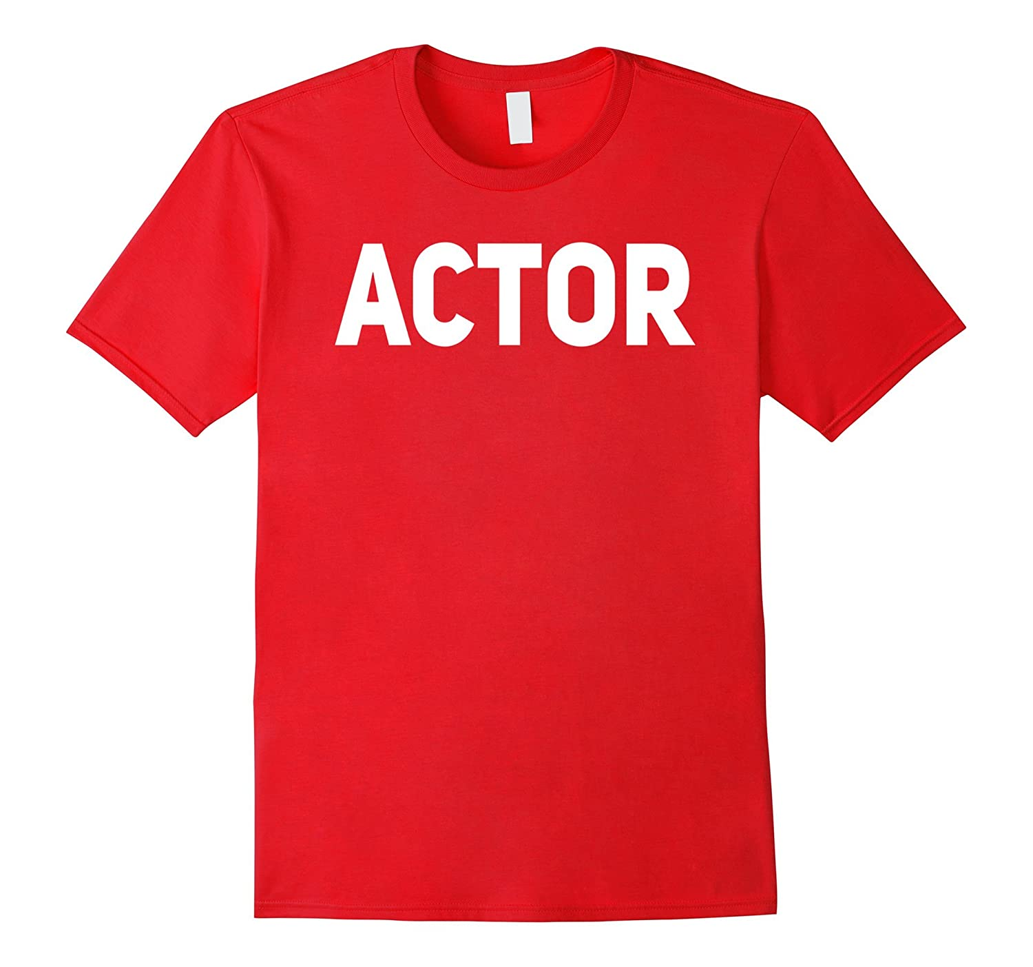 Actor Shirt for Improv Theater and Movie Actors-TJ