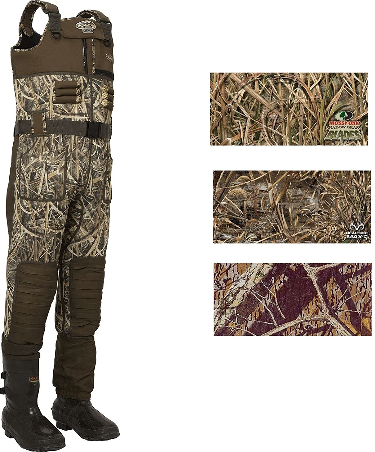 Drake MST Eqwader 2.0ネオプレンWader – Regular B015GKH470  Realtree Max-5 9R