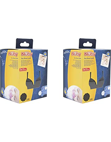 Nûby - Dos Paquetes de Discos de lactancia ultrafinos - Día - Negro - 2 x