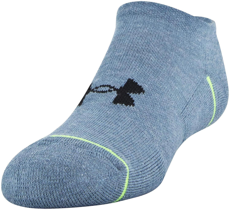 3-Pair Under Armour Unisex Youth Phenom No Show Socks