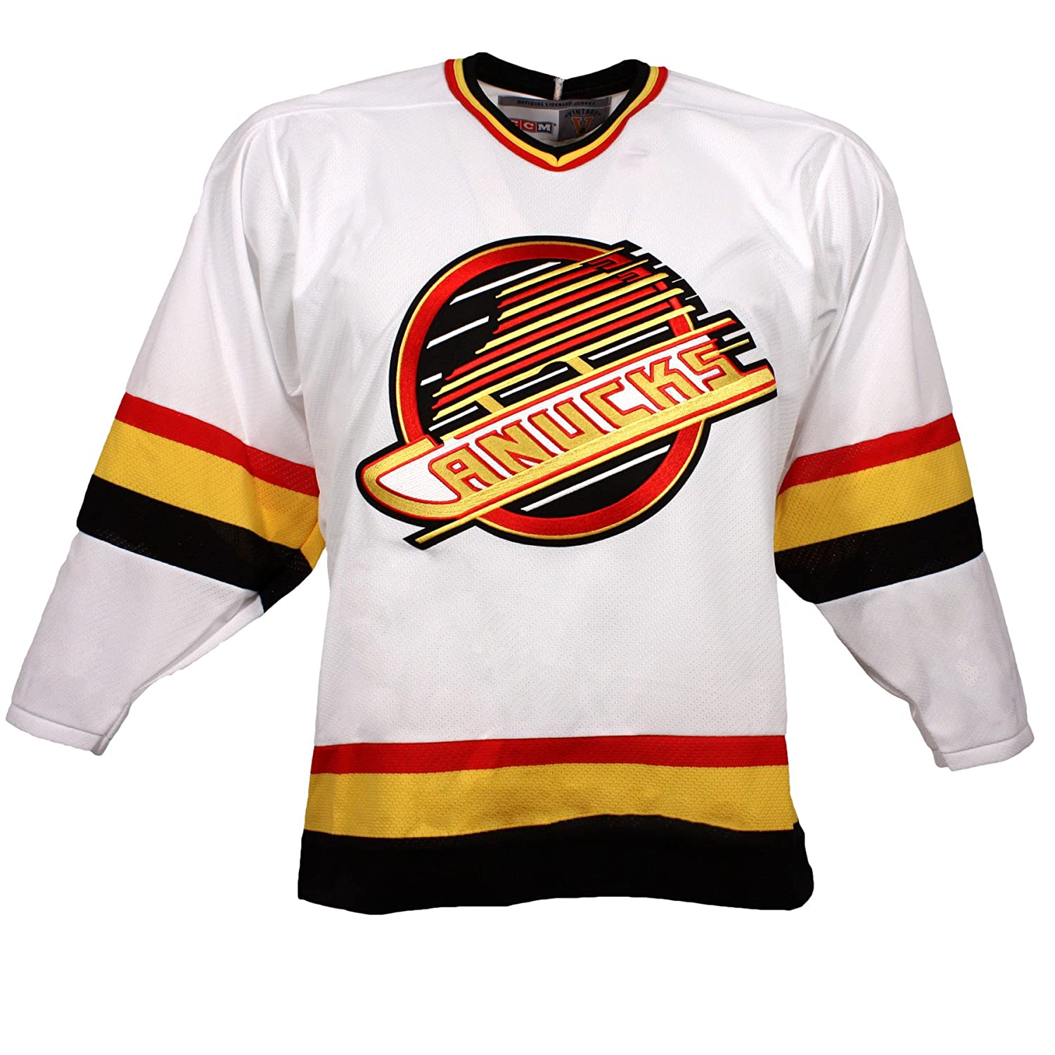 da7473480 Amazon.com   Vancouver Canucks Vintage Replica Jersey 1994 (Home) - M    Sports   Outdoors