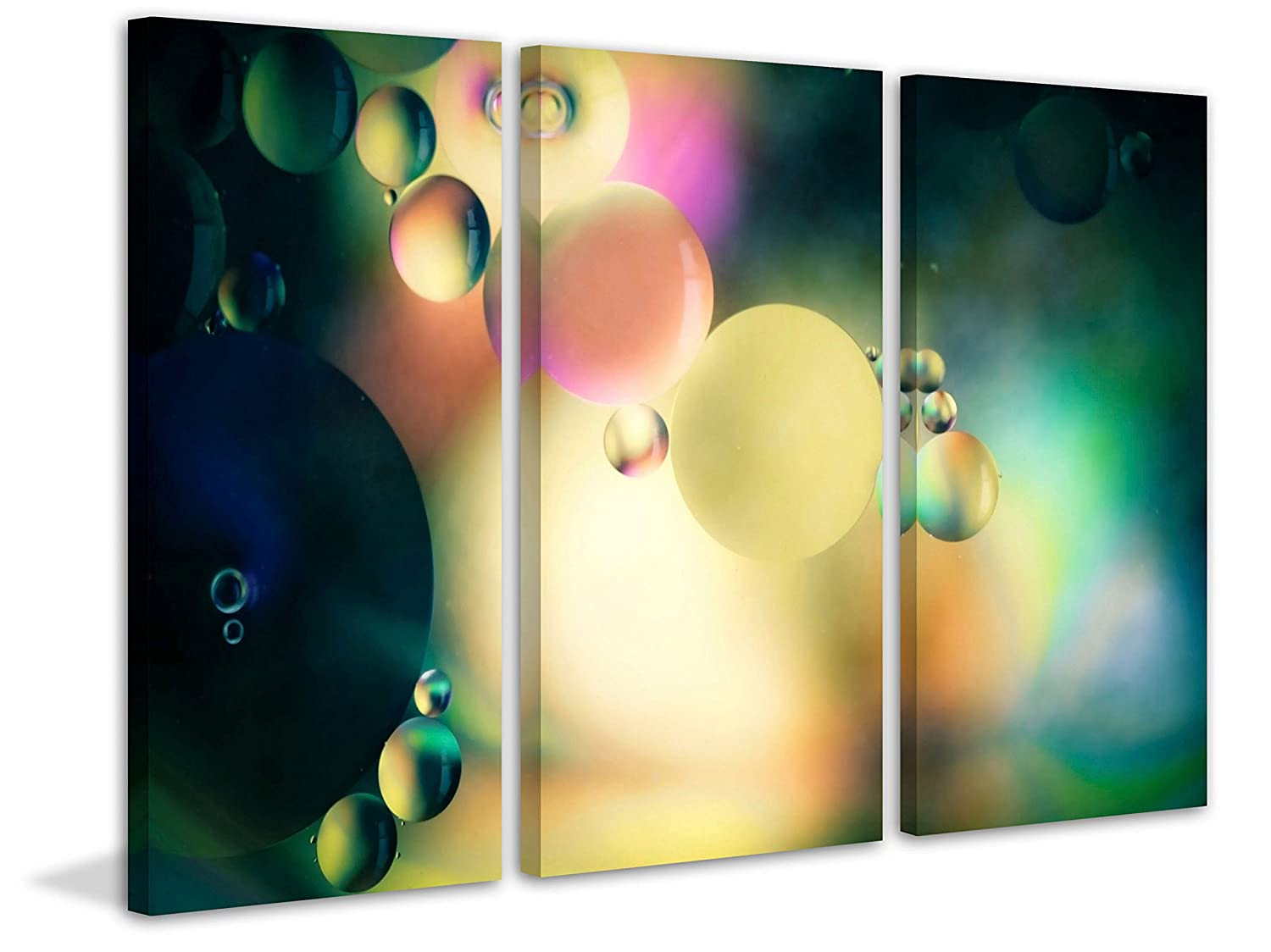 Amazon.com: Marmont Hill Speak to Me Triptych Canvas Wall Art, 45 by ...