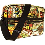 Marvel  Retro Messenger Bag All Over Print Graphic, Sac pour homme homme