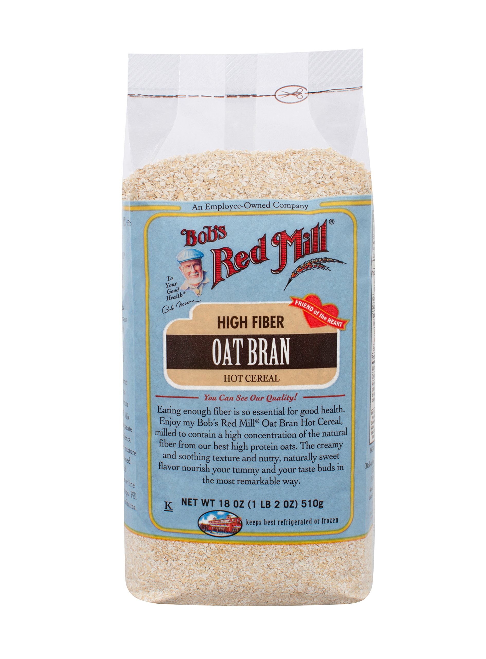 Bob's Red Mill Oat Bran Cereal, 18 oz