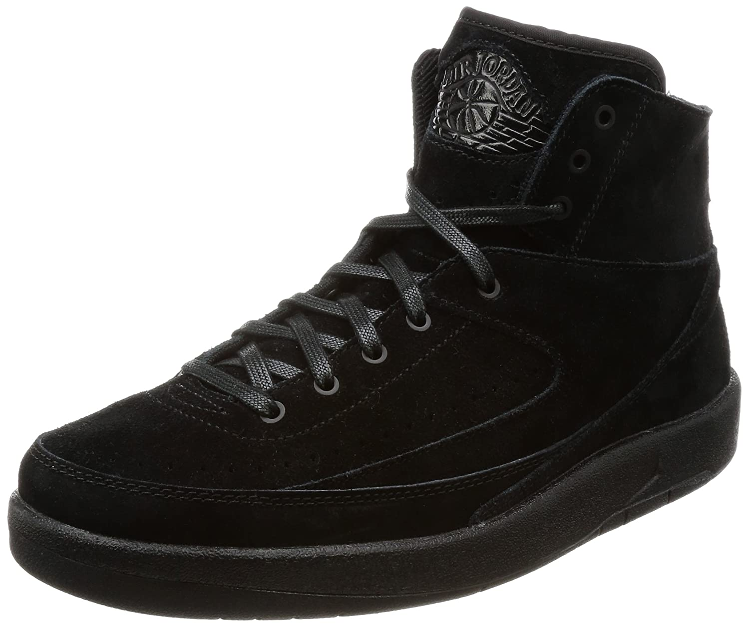 Nike Herren Air Jordan 2 Decon Gymnastikschuhe, Black, Black  EU 45 US 11 UK 10|Schwarz (Black Black)