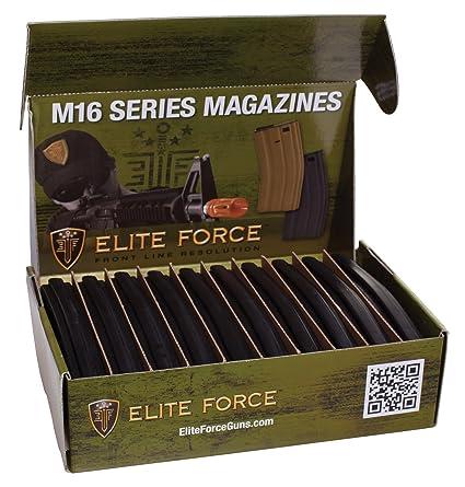 Amazon.com: Elife Force M4/M16 10pk 140rd Mid Cap Airsoft ...