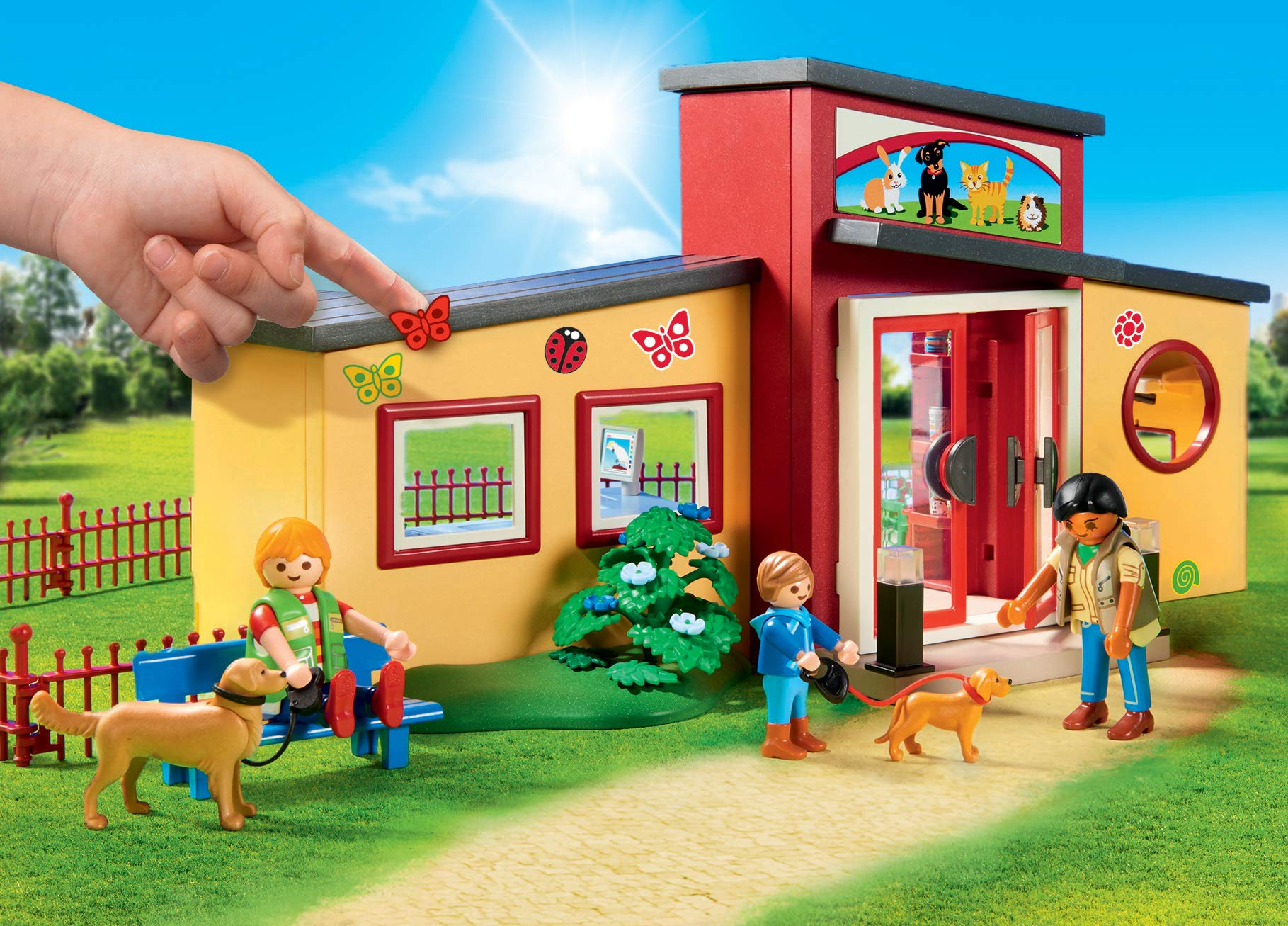 PLAYMOBIL® Tiny Paws Pet Hotel Multicolor by PLAYMOBIL® (Image #7)