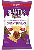 Beanitos Skinny Dippers Baked Black & White Bean, 10 Ounce
