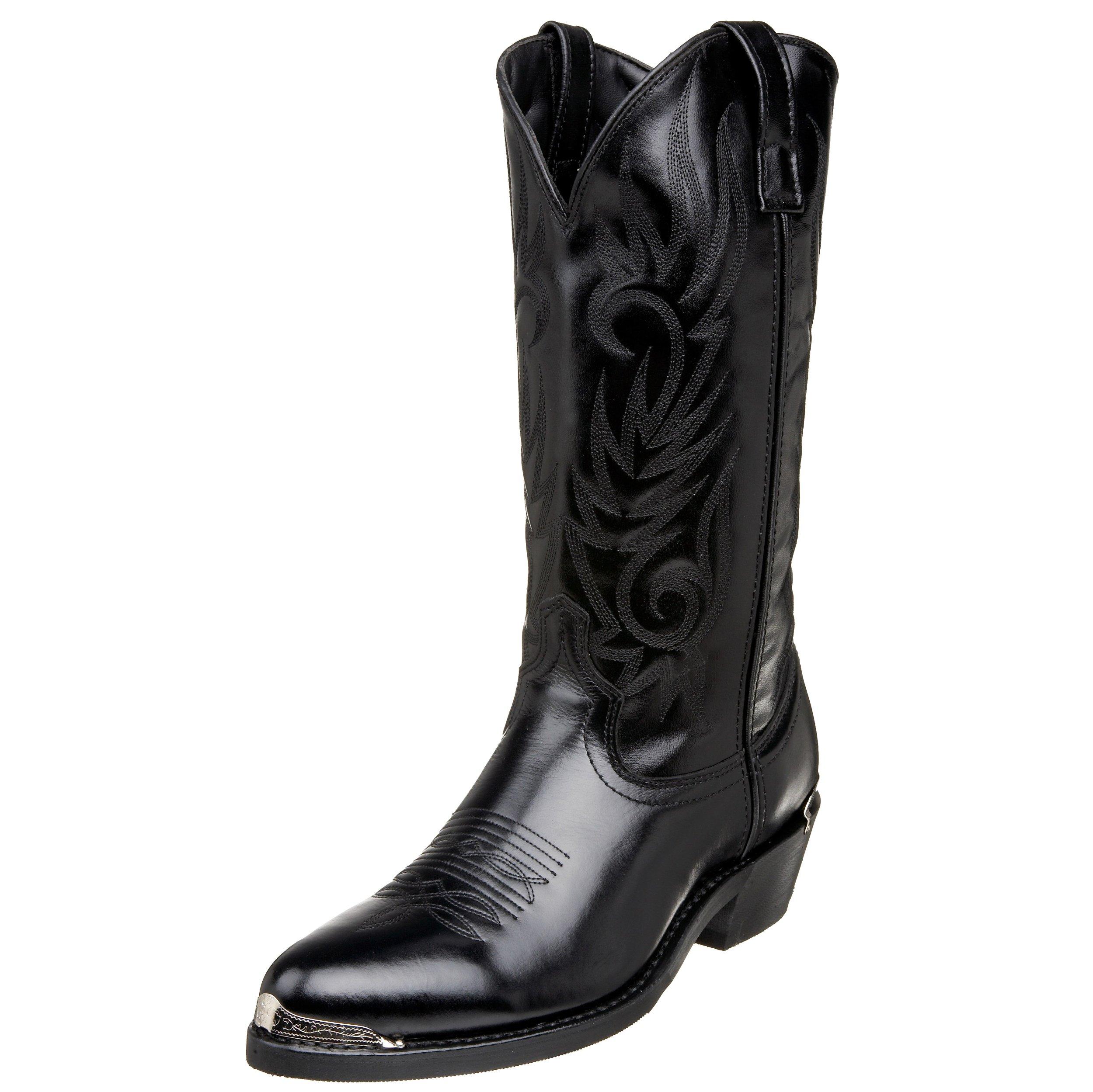 Laredo Men's Mccomb Western Boot,Black,13 D US