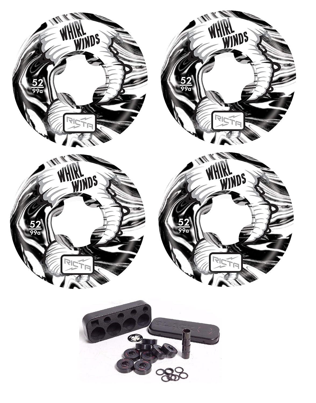 【メーカー公式ショップ】 Ricta Wheels 52mm Whirlwinds 99a スケートボードホイール + + 独立したベアリングセット Ricta B07GZW1JPN B07GZW1JPN, セイナイジムラ:e842ec38 --- mvd.ee