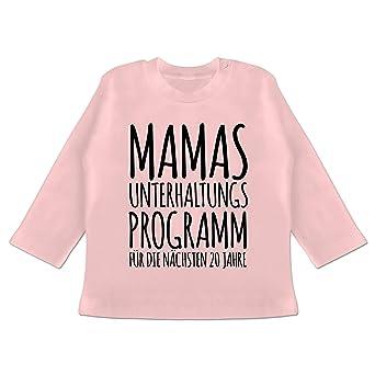 Strampler Motive Baby T-Shirt Langarm Mamas Unterhaltungsprogramm f/ür die n/ächsten 20 Jahre
