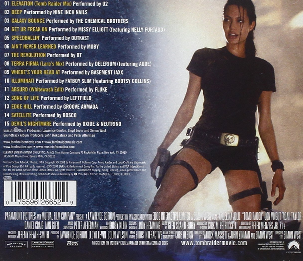 Various Artists Tomb Raider Amazon Com Music
