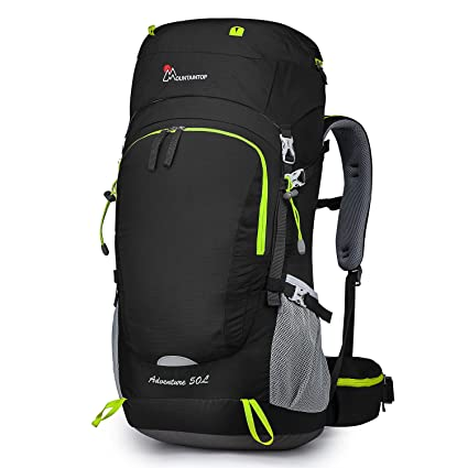 a700a3c94c Amazon.com   MOUNTAINTOP 50L 60L Hiking Backpack with Rain Cover ...