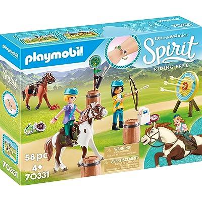 PLAYMOBIL Spirit Riding Free Outdoor Adventure: Toys & Games