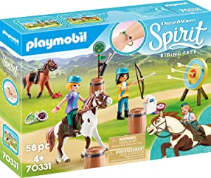 Playmobil Spirit Riding Free Outdoor Adventure