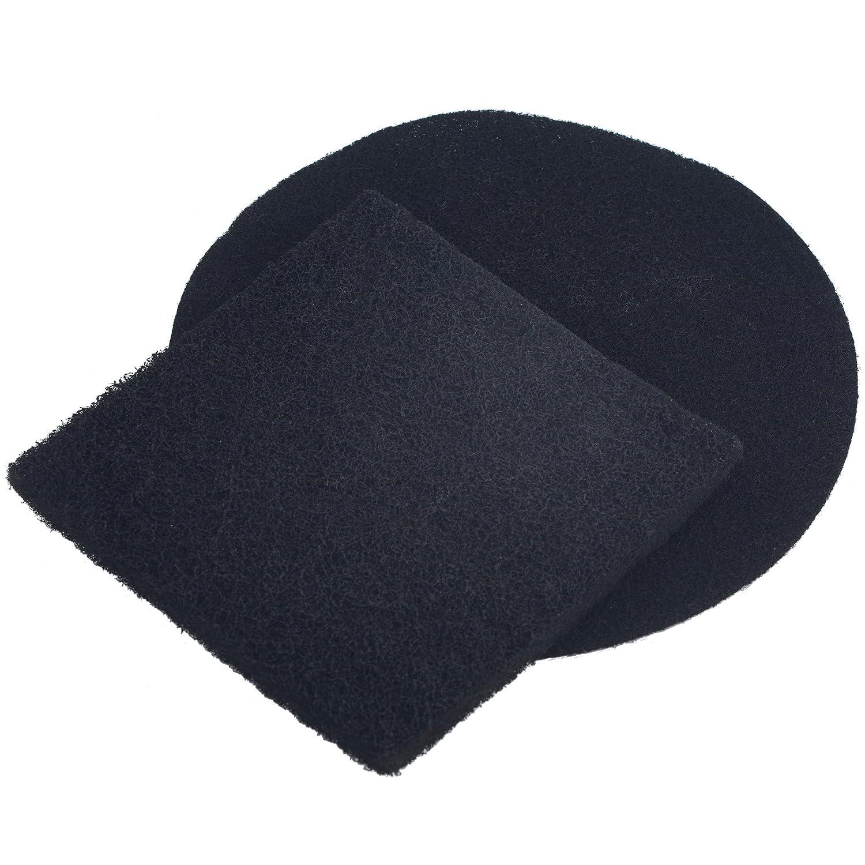 VonShef apto para la mayor/ía de cubos de desechos de cocina Filtro de 2 Partes Para Reemplazo de Filtro de Carb/ón