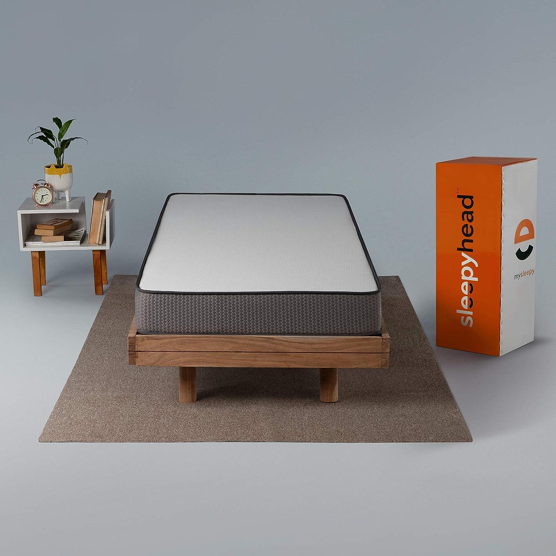 Sleepyhead Flip - Dual Sided High Density Foam Mattress with Firm & Soft Sides, (72x36x5 inches, Single Size)