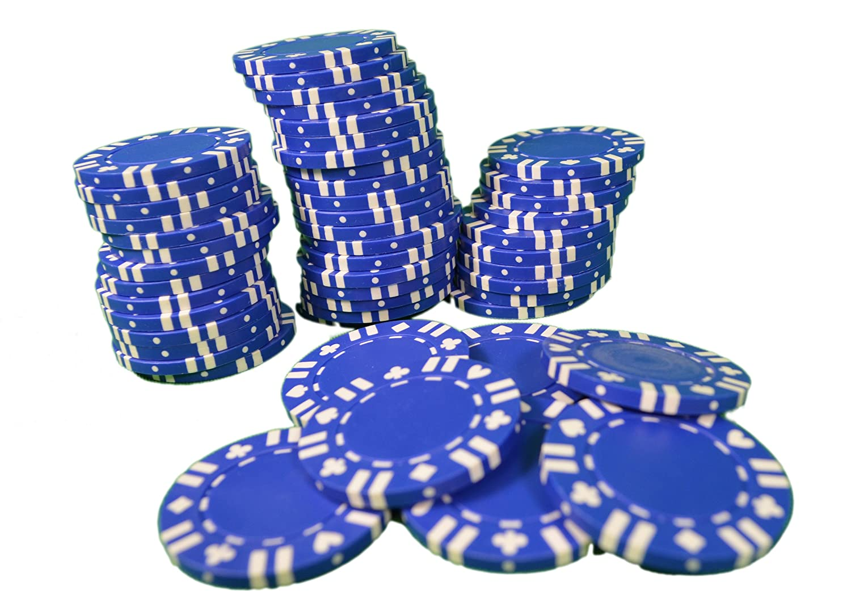 ブルーwith Duty B00LPNP65K Card Suit複合ポーカーチップ11.5 G Heavy Duty Lot of Lot 200 ( 4パック) B00LPNP65K, Butler Verner Sails:1ea6d402 --- itxassou.fr