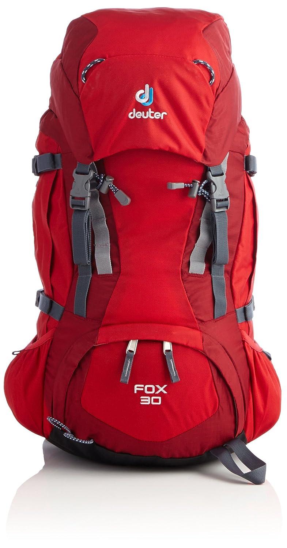 Deuter Rucksack Fox 30 - Mochila de senderismo, color rojo/rosa, talla 23 x 22 x 60 cm: Amazon.es: Deportes y aire libre