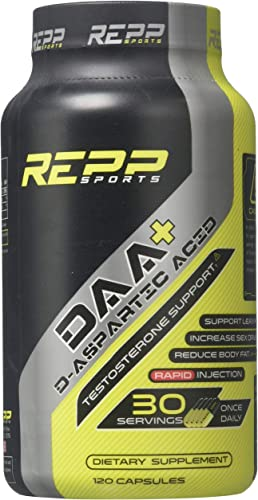 Repp Sports DAA D-Aspartic Acid 120 Capsules