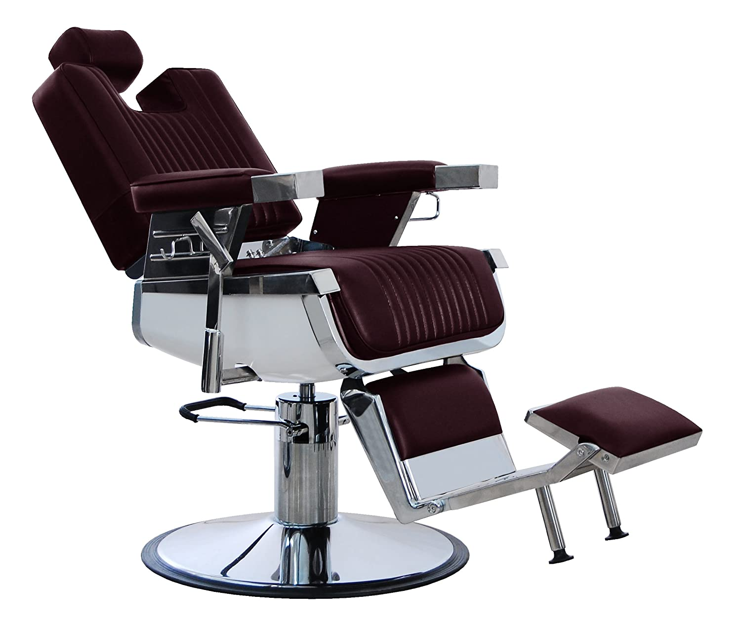 New resistente marrone vera pelle Hadi® Barber Chair bc-20, Par fine CHINA