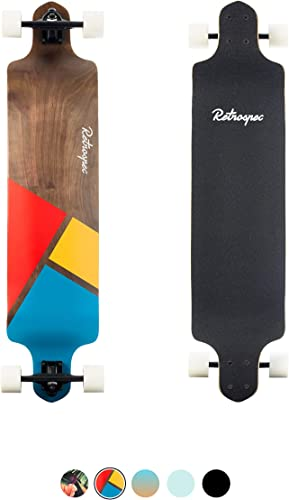 Retrospec Tidal 41-inch Drop-Down Longboard Skateboard