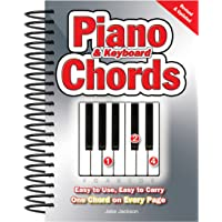 Piano & Keyboard Chords: Easy to Use, Easy to Carry, One Chord on Every Page (NEW EDITION)