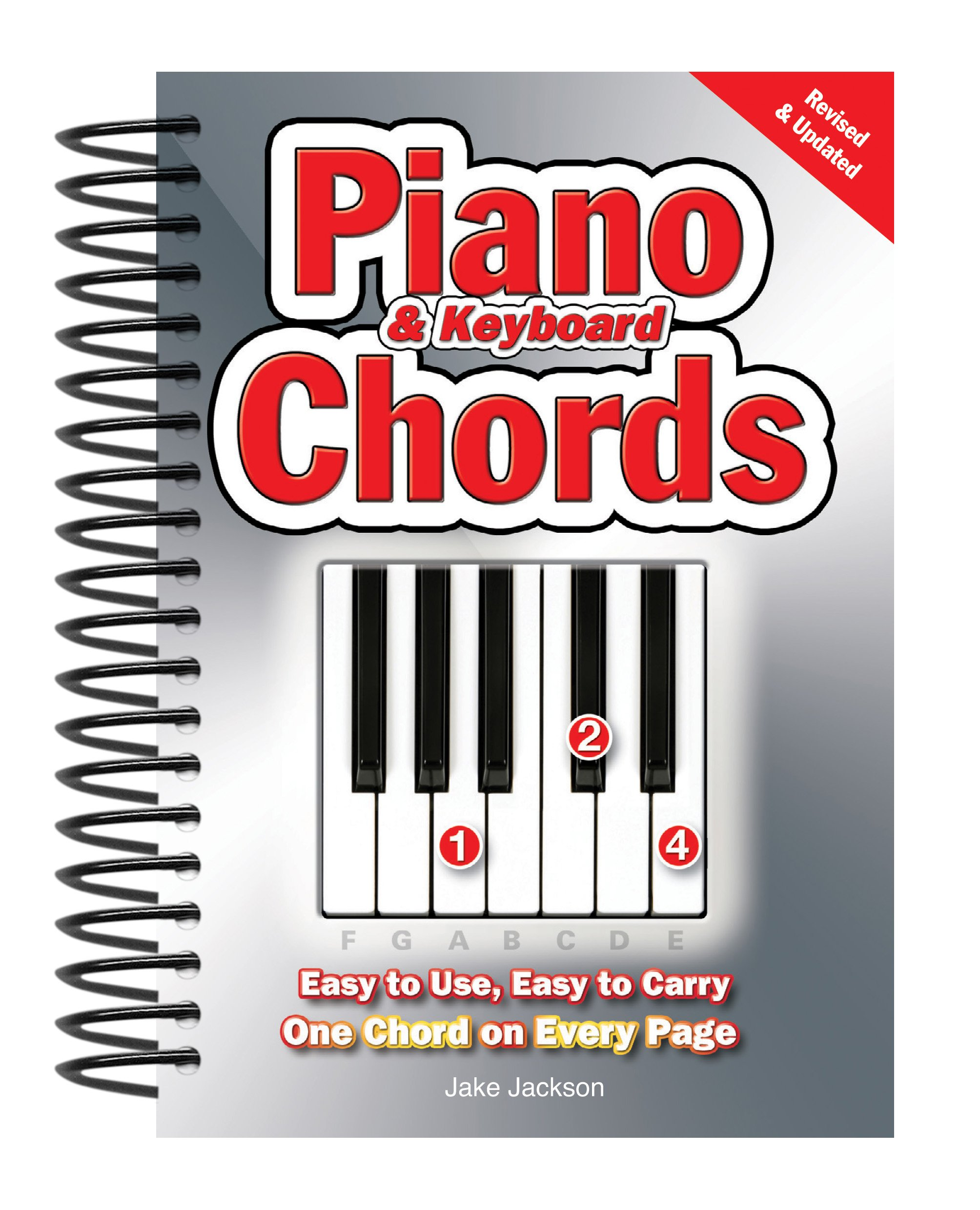 Piano keyboard chords easy to use easy to carry one chord on piano keyboard chords easy to use easy to carry one chord on every page jake jackson 9780857752642 amazon books hexwebz Image collections