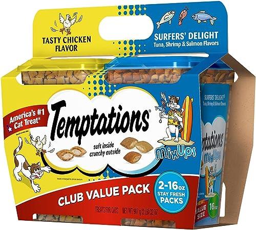Temptations Cat Treats, Club Value Pack 16 Oz., 2 Pk.