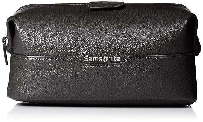 Amazon.com: Samsonite- Kit de viaje de piel con marco de ...