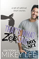 That's What Zee Said : Box Set Kindle Edition