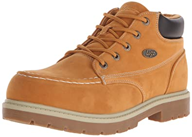 Lugz Men's Loot SR Chukka Boot, Golden Wheat/Cream/Bark/Gum,