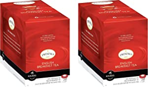 Twinings of London English Breakfast Tea K-Cups for Keurig, 24 Count, 2 Pack