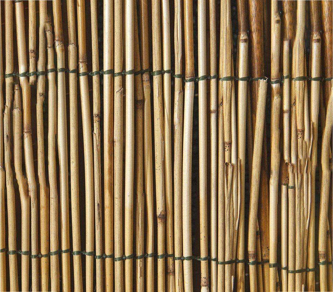049101 Cl/ôture en bambou pour p/érim/ètre 100 x 300 cm