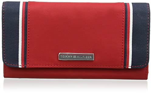 Tommy Hilfiger Pamela Large EW Wallet - Cartera para Mujer, Color Chilli Pepper, Talla única: Amazon.es: Zapatos y complementos