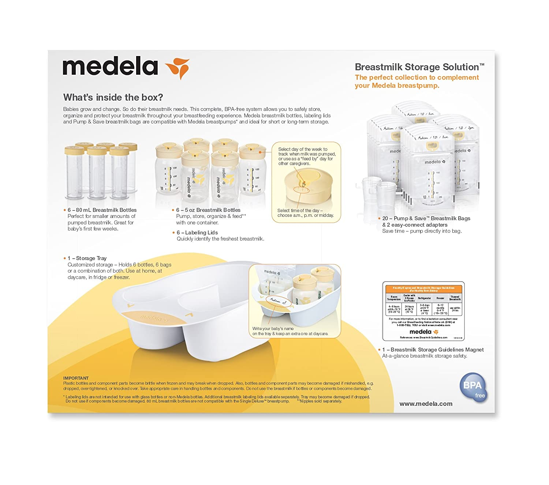 eae77d81a886 Amazon.com : Medela Breast Milk Storage Solution Set : Breast Milk Storage  Products : Baby