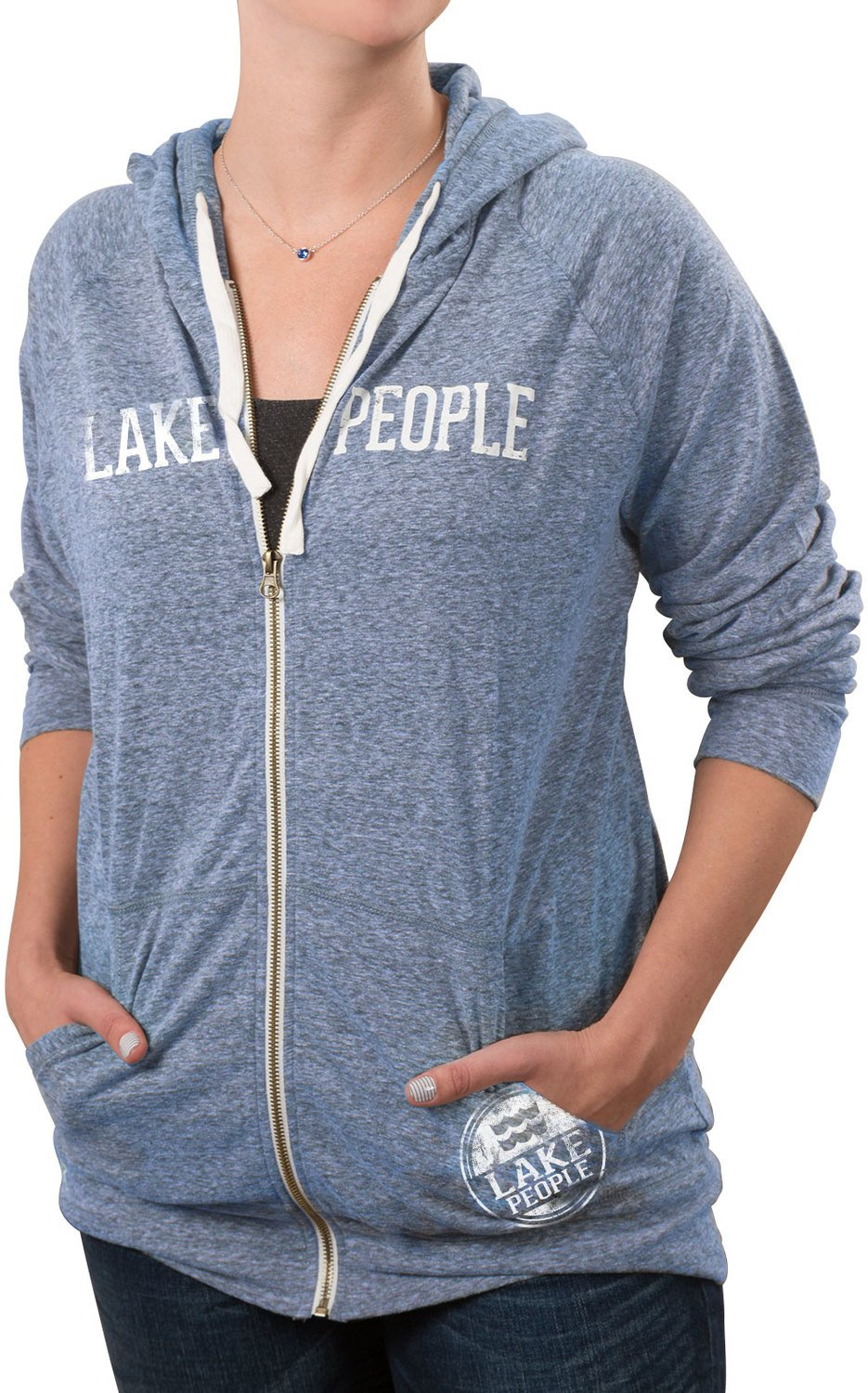We People Zip up, Blue, XL