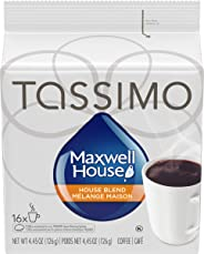 Tassimo Maxwell House House Blend Coffee, 16 T-Disc