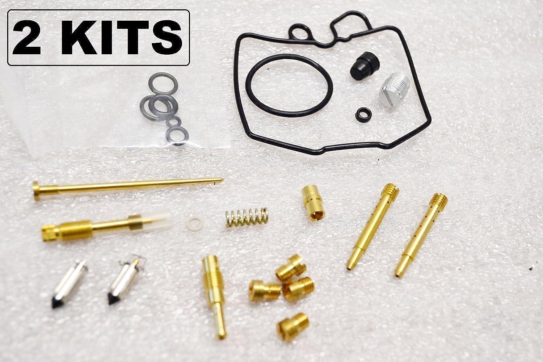 2 KITS 2x Honda 80-81 CB400T Hawk Carburetor Carb Rebuild Kit