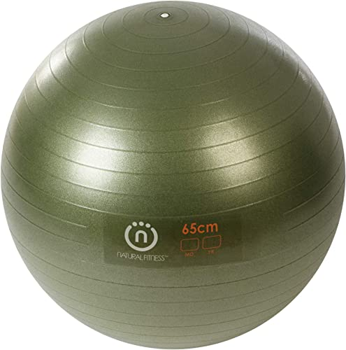 Natural Fitness Pro Burst Resistant Exercise Ball